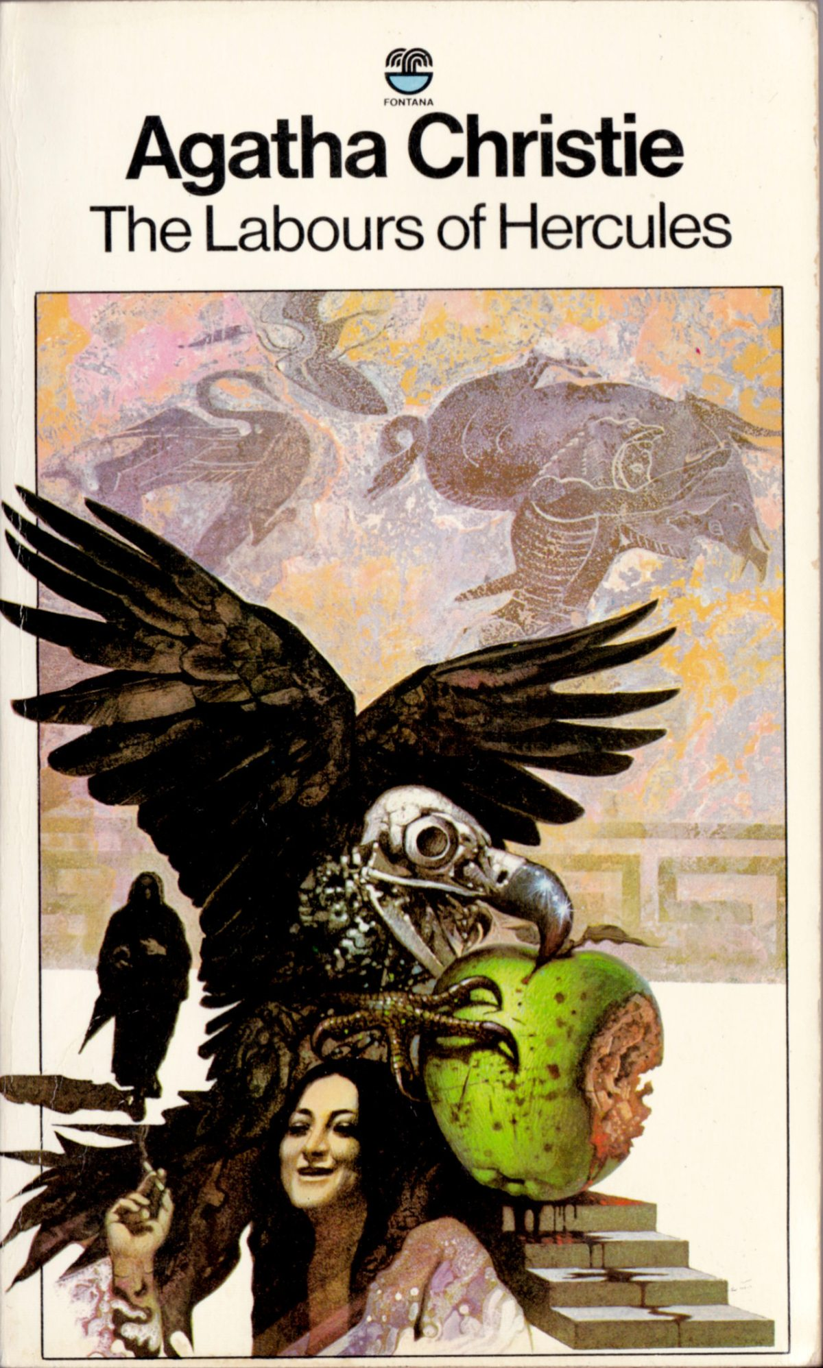 Agatha Christie Tom Adams The Labours of Hercules Fontana 1980