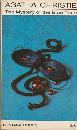 Agatha Christie Tom Adams The Mystery of the Blue Train v2 Fontana
