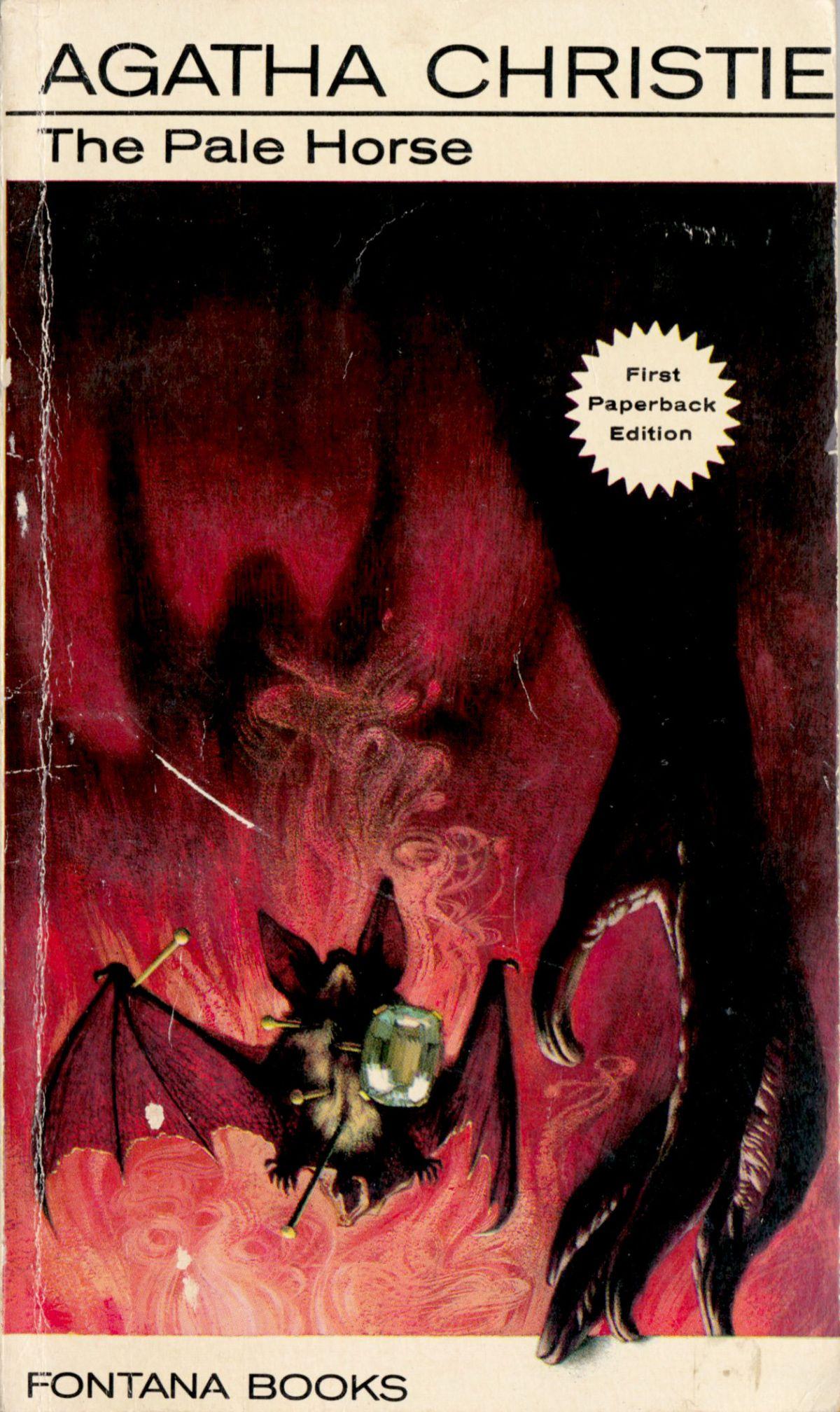 Agatha Christie Tom Adams The Pale Horse Fontana 1964