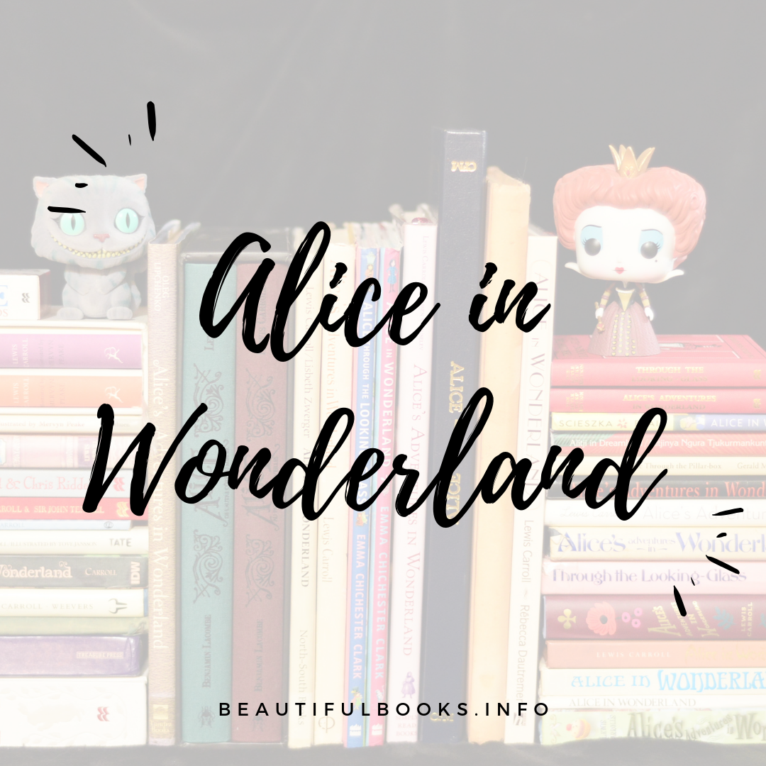 alice in wonderland series square logo