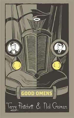 good omens discworld hardback library cover