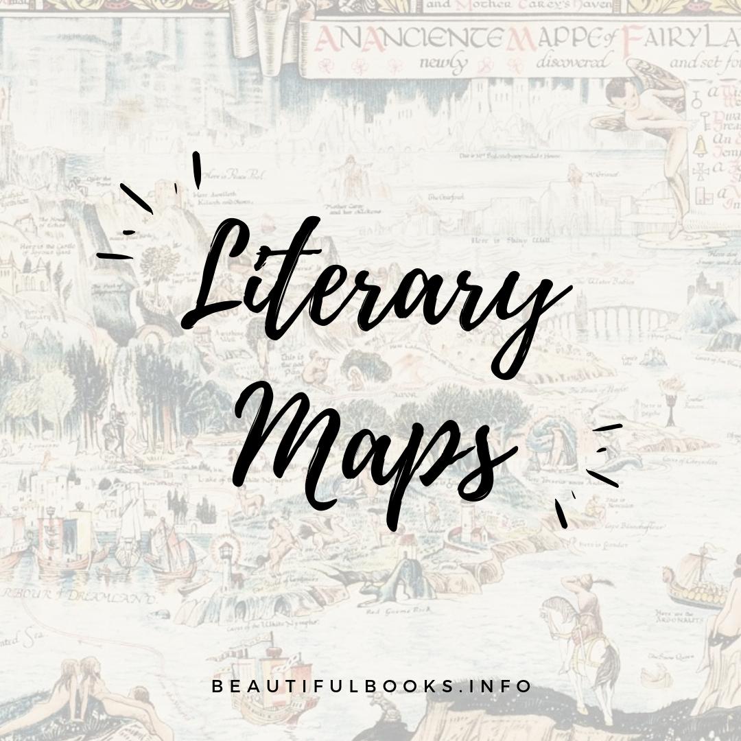 literary maps artist square logo