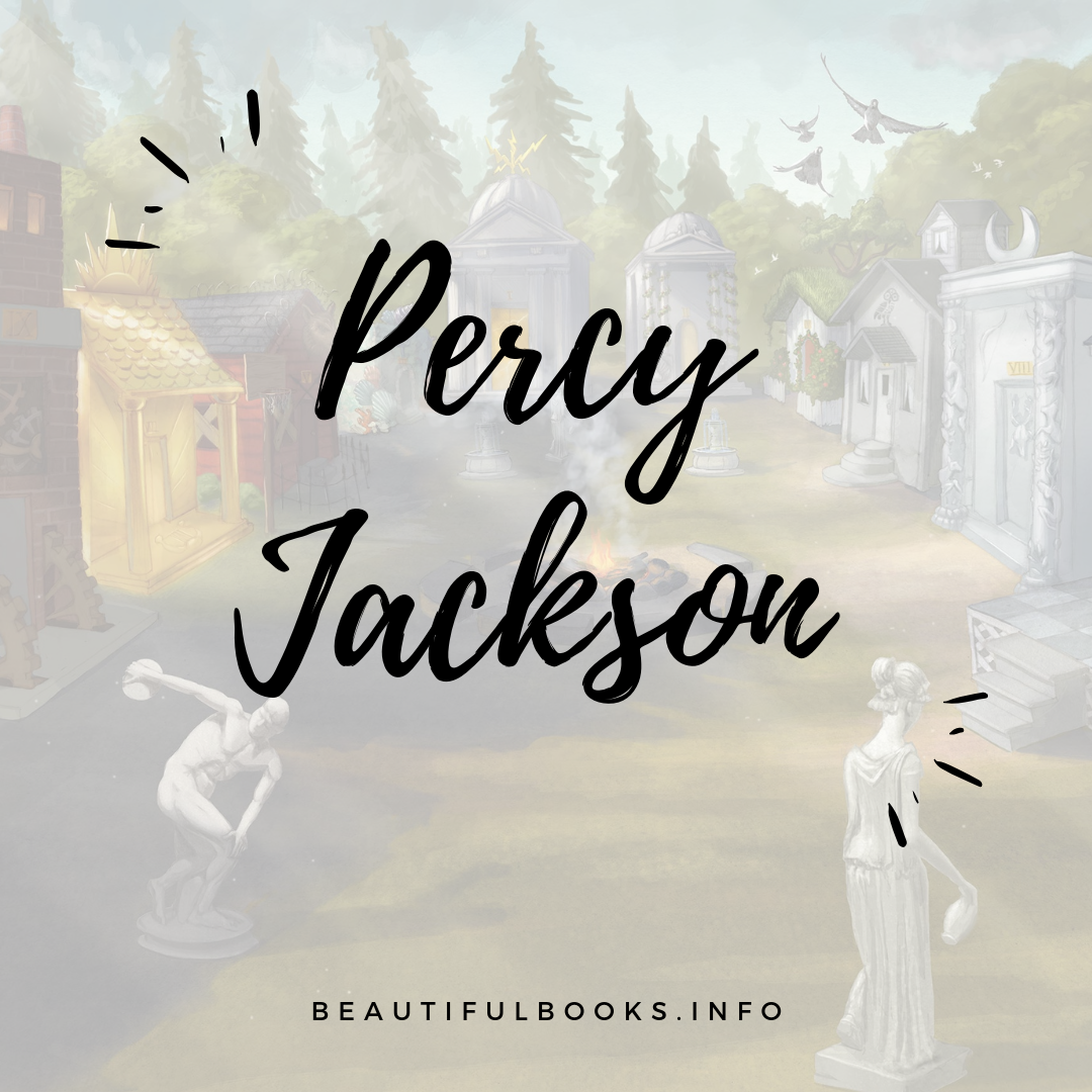 percy jackson square logo
