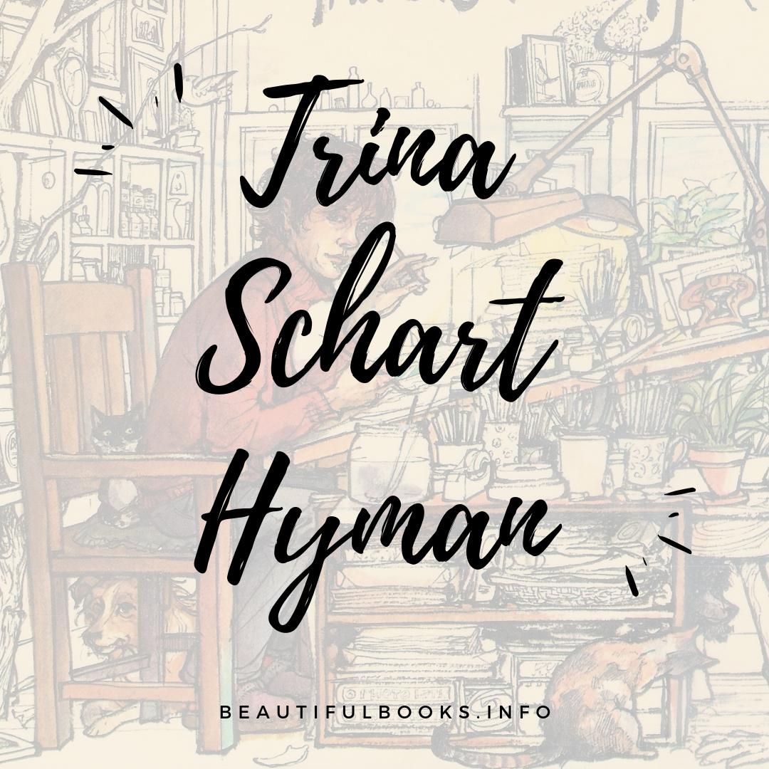 trina schart hyman square logo