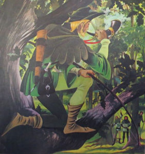 GJT Finding Out 18 6 Cover Art Robin Hood
