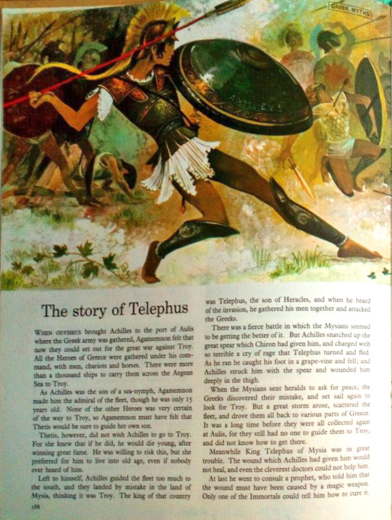 GJT The Story of Telephus Finding Out Vol 3