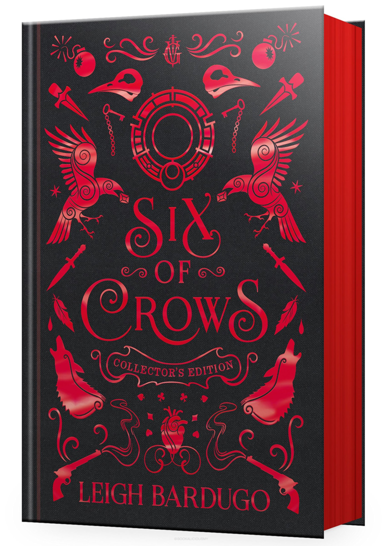 leigh bardugo six of crows collectors edition page edges