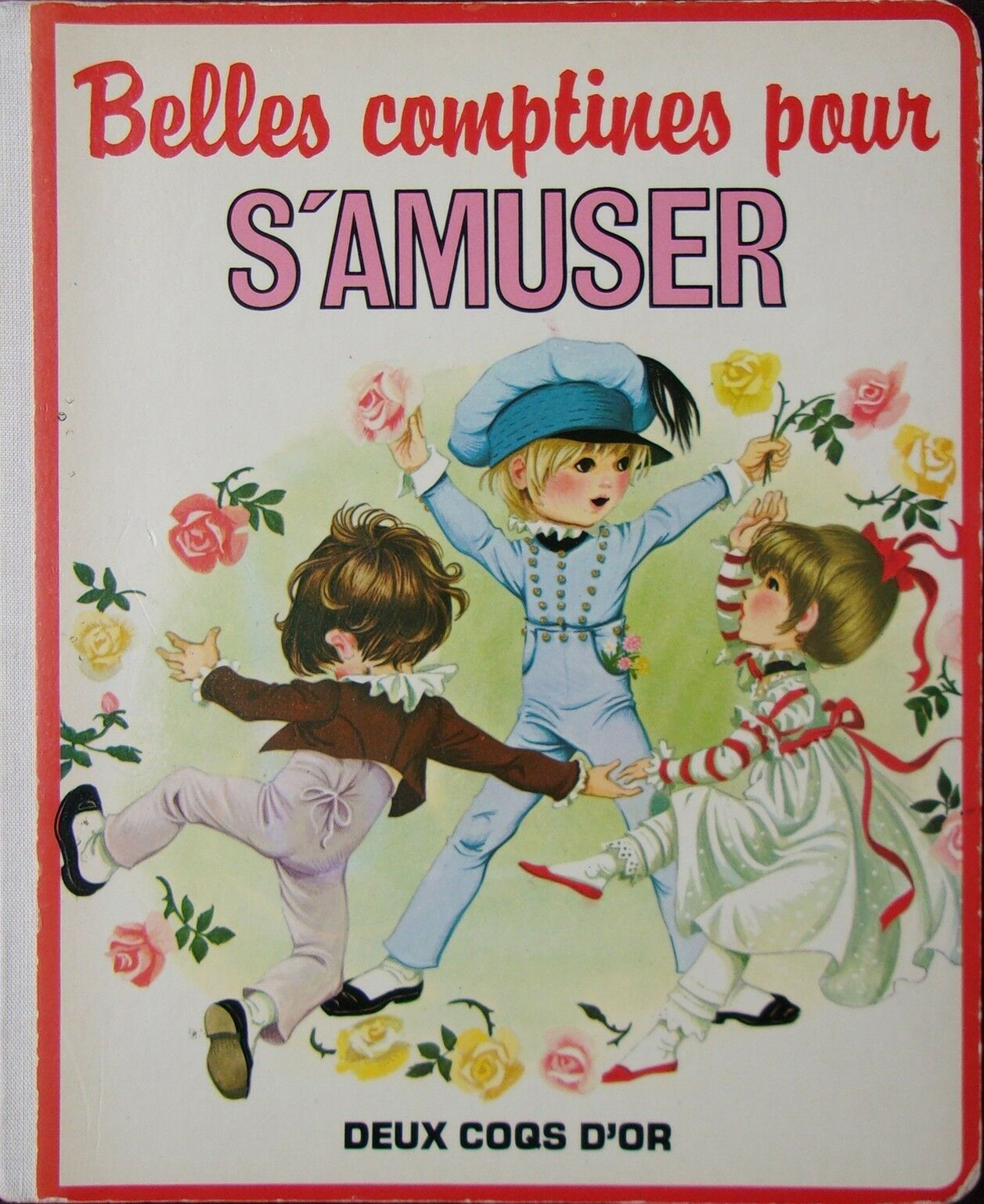 GJT French Belles comptines pour samuser little tots book of nursery rhymes deux coqs dor 1981