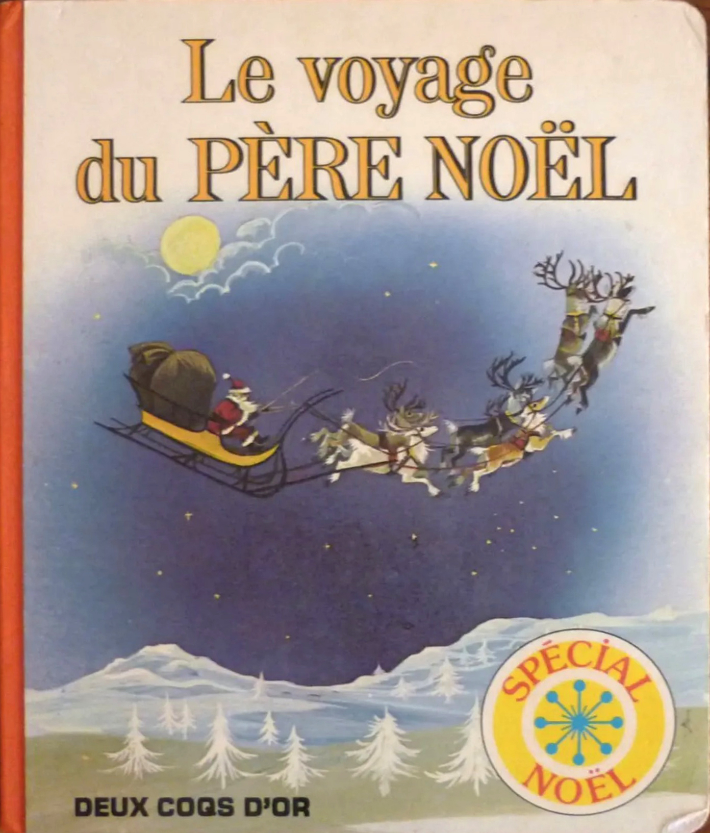 GJT French Le voyage du pere noel Santa Claus is coming to town deux coqs dor