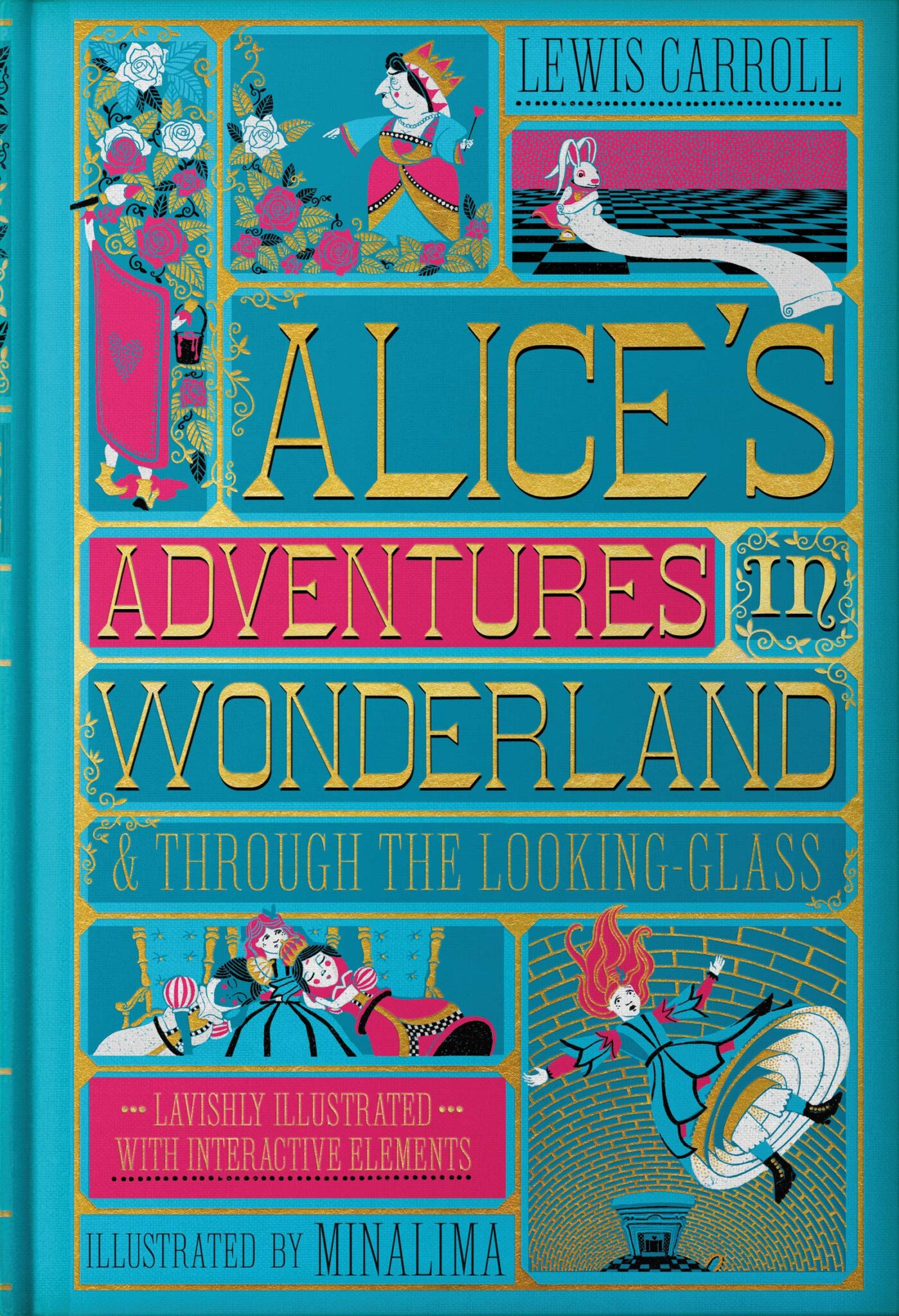 Alice in Wonderland MinaLima cover