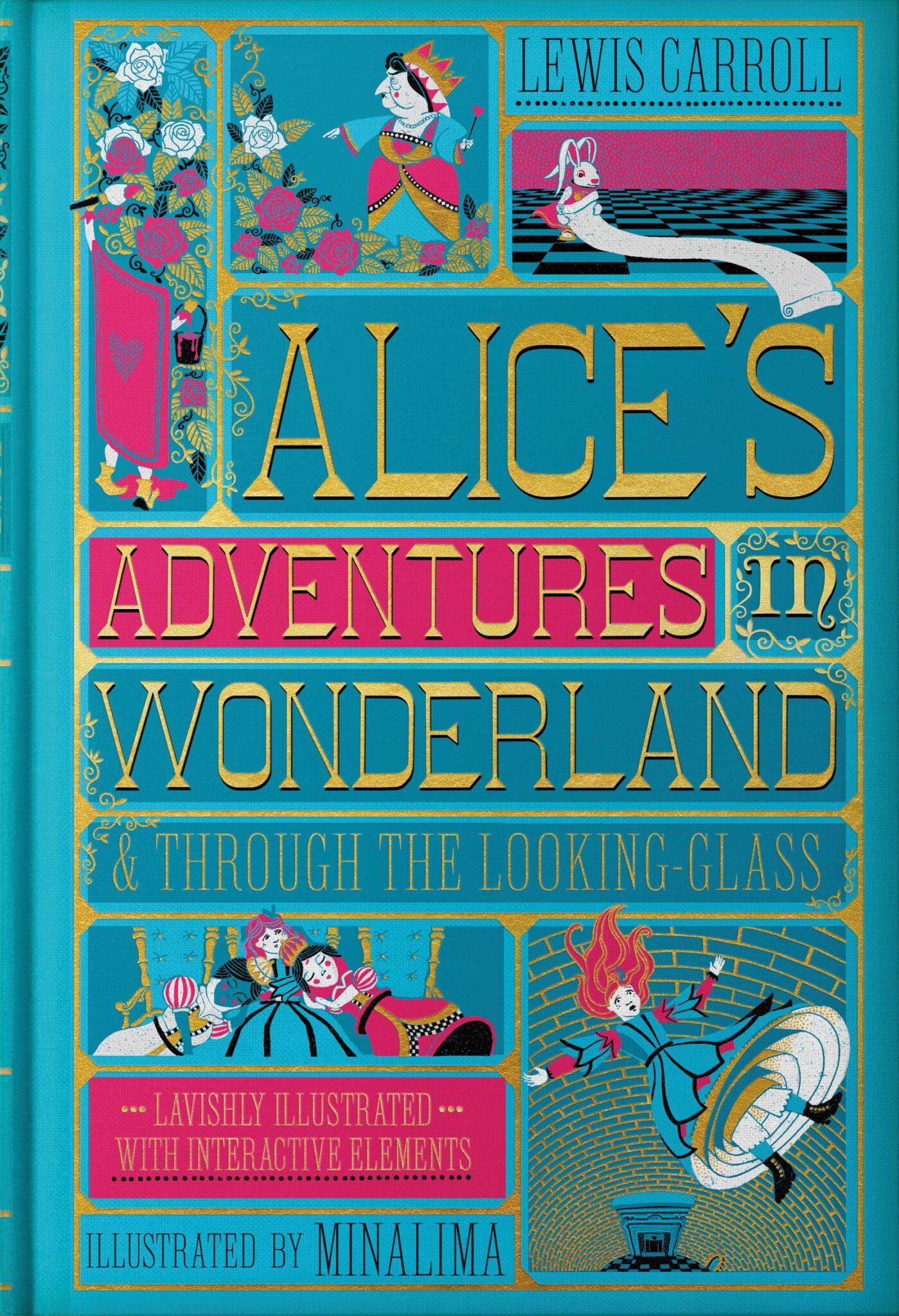 Alice in Wonderland MinaLima cover