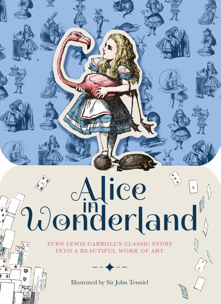 Alice in Wonderland paperscapes