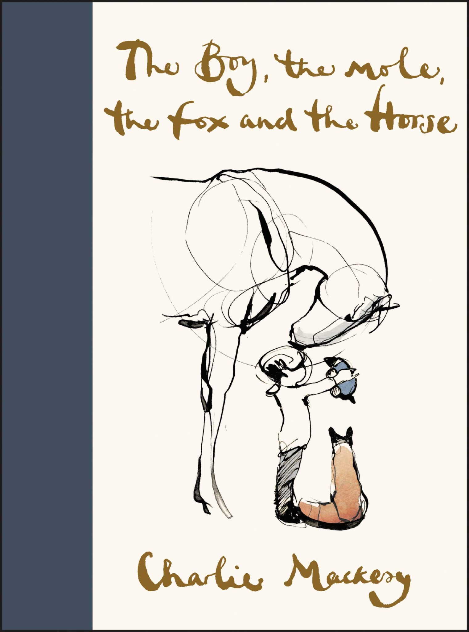 The Boy the mole the fox and the horse charlie macksey cover
