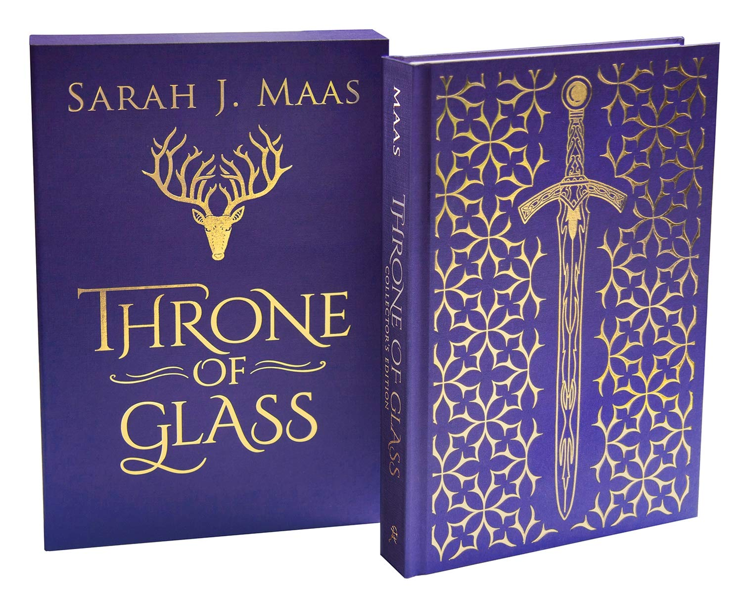 US throne of glass collectors ed front