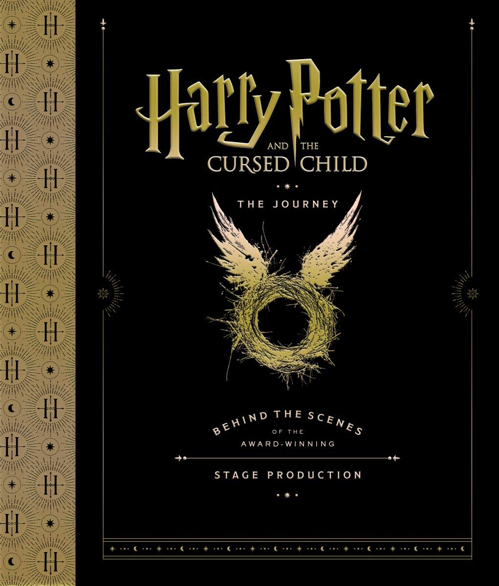 harry potter cursed child journey cover