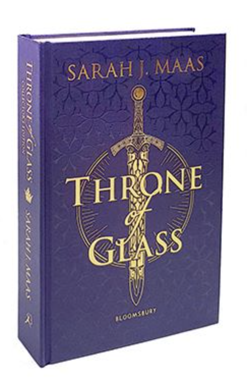 sarah maas throne of glass collectors uk cover