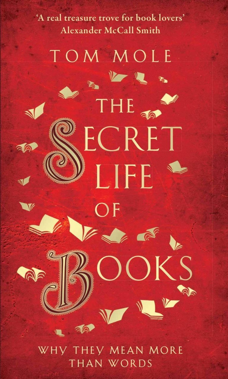 the secret life of books tom mole cover