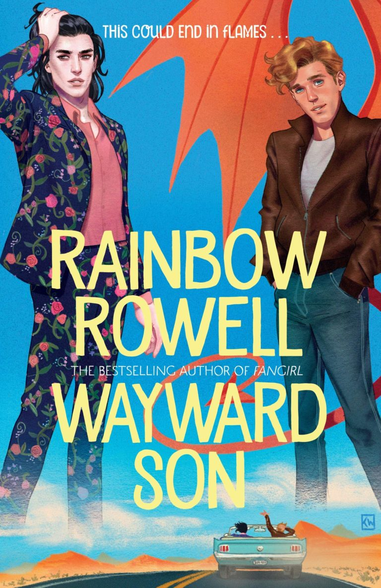 wayward son rainbow rowell uk cover