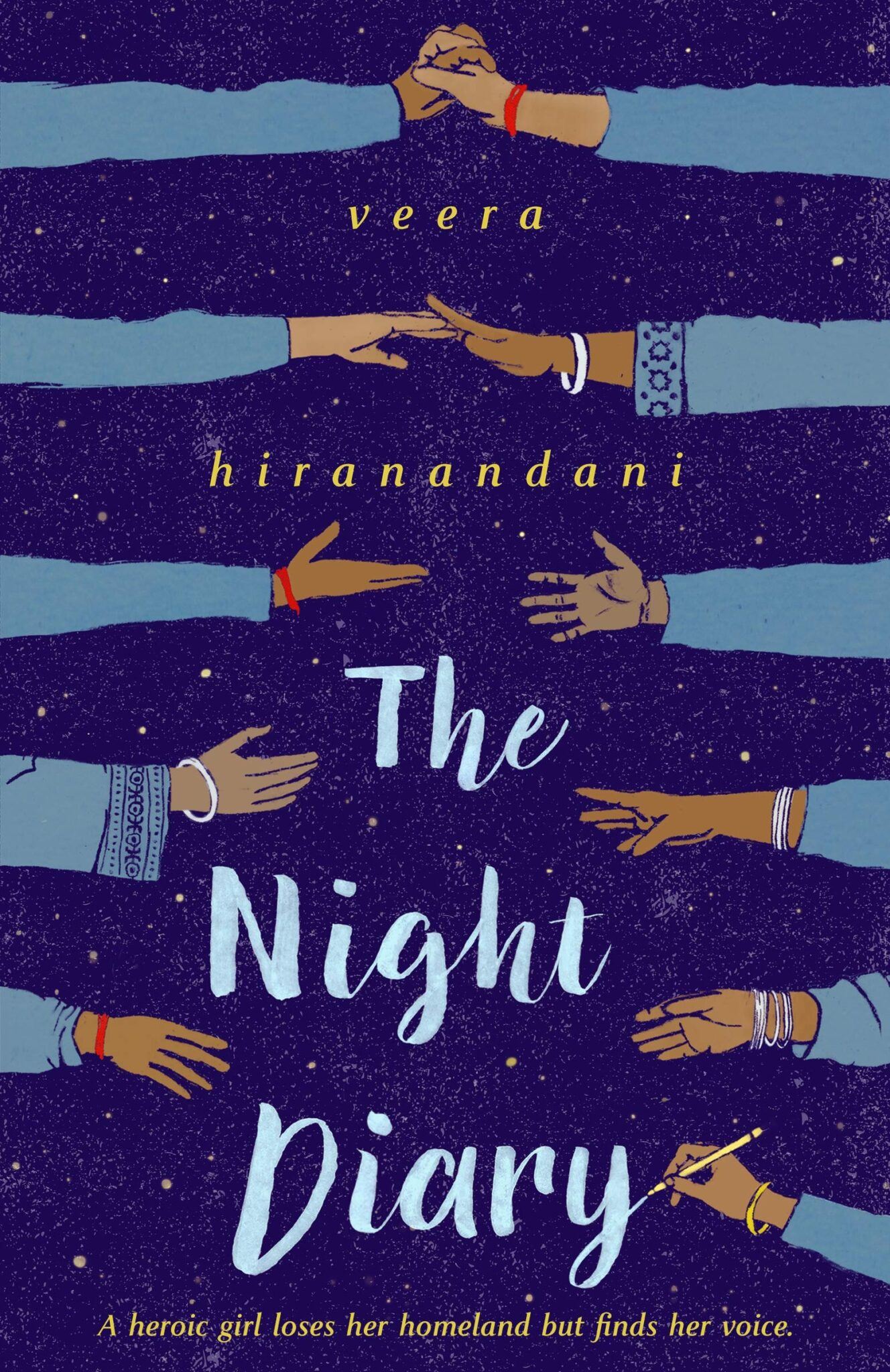 the night diary veera Hiranandani PB cover