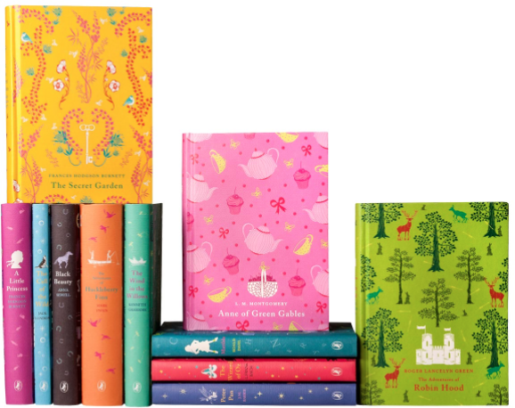 puffin classics set standing