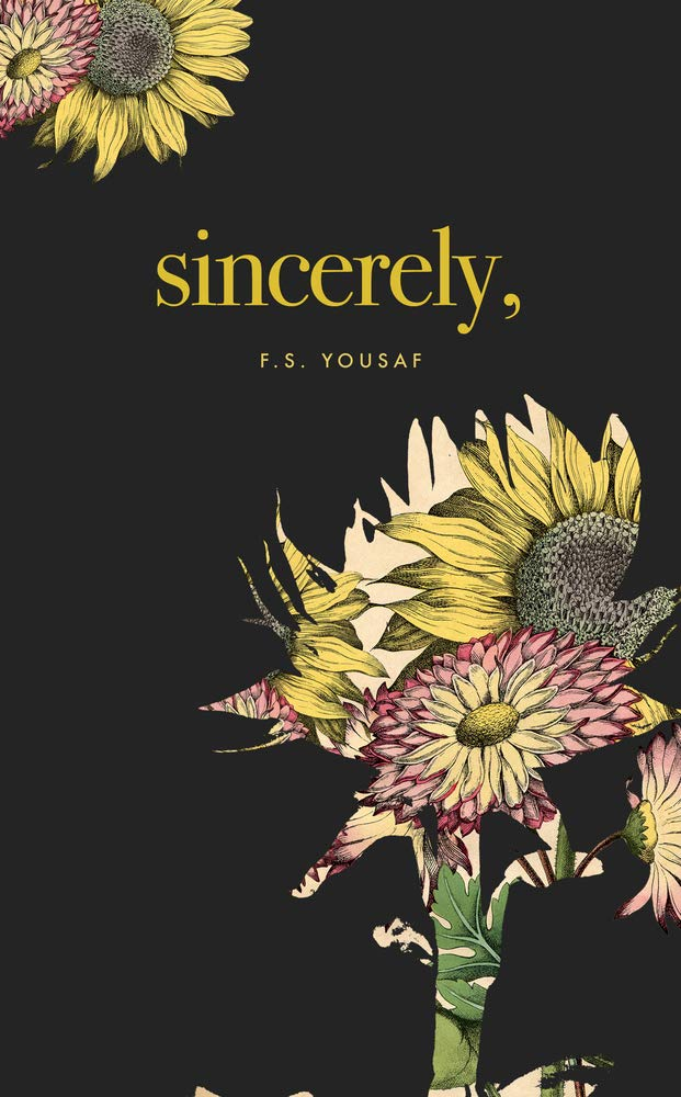 sincerely yousaf cover