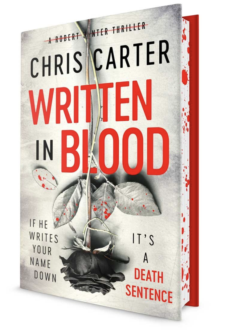Chris Carter Written In Blood Sprayed