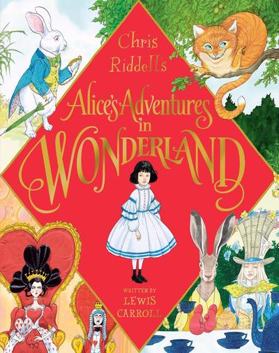 alice in wonderland chris riddell cover