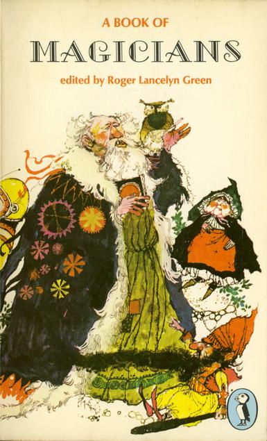 hamish hamilton book of magicians green PB