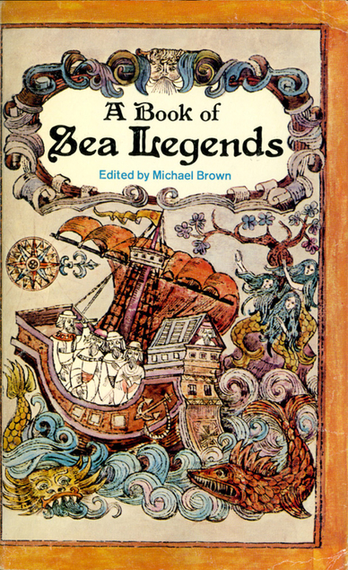 puffin book of sea legends brown PB