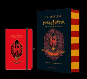 harry potter house 5 gryffindor notebook