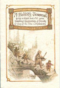 hobbit journal green