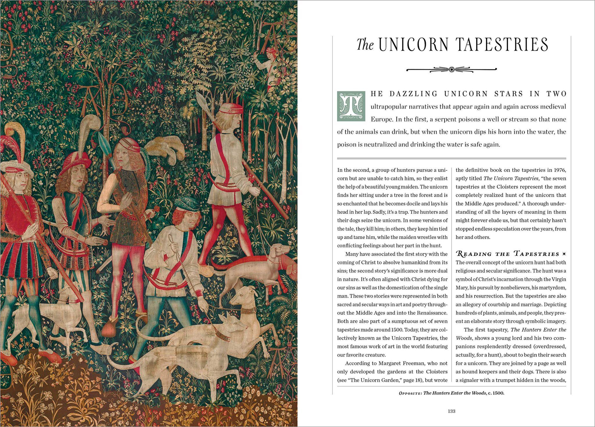 unicorn handbook int 4 tapestries