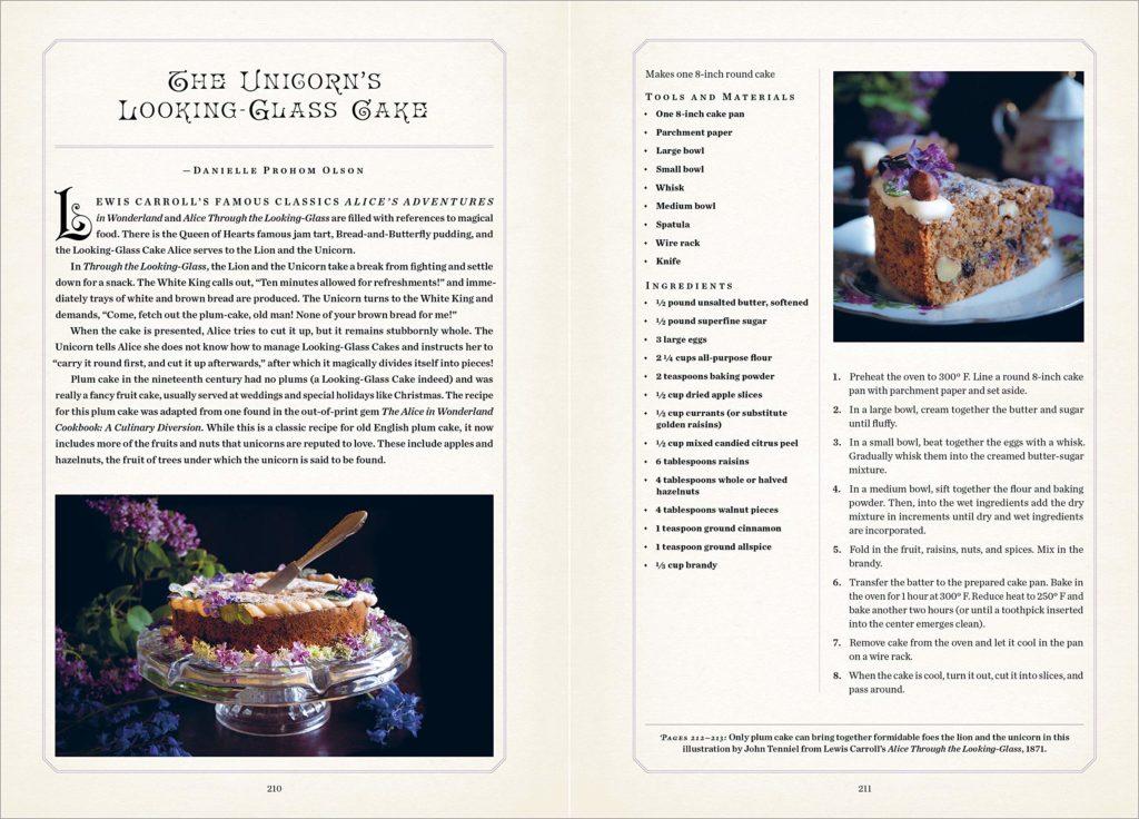 unicorn handbook int 6 cake