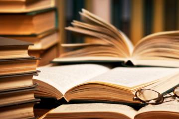 Stack of Books Hestia Header Image