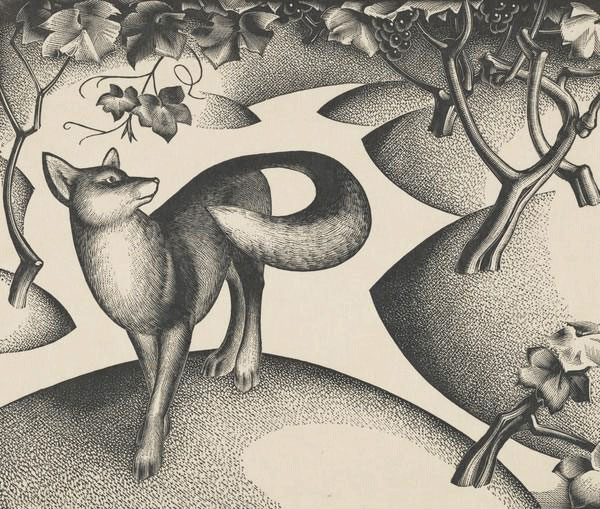 agnes miller parker aesop fables int fox and raysyns