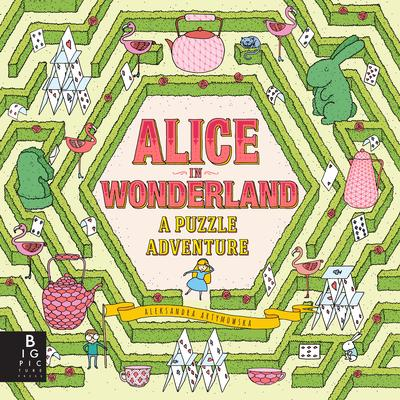 alice wonderland puzzle adventure artymowska cover