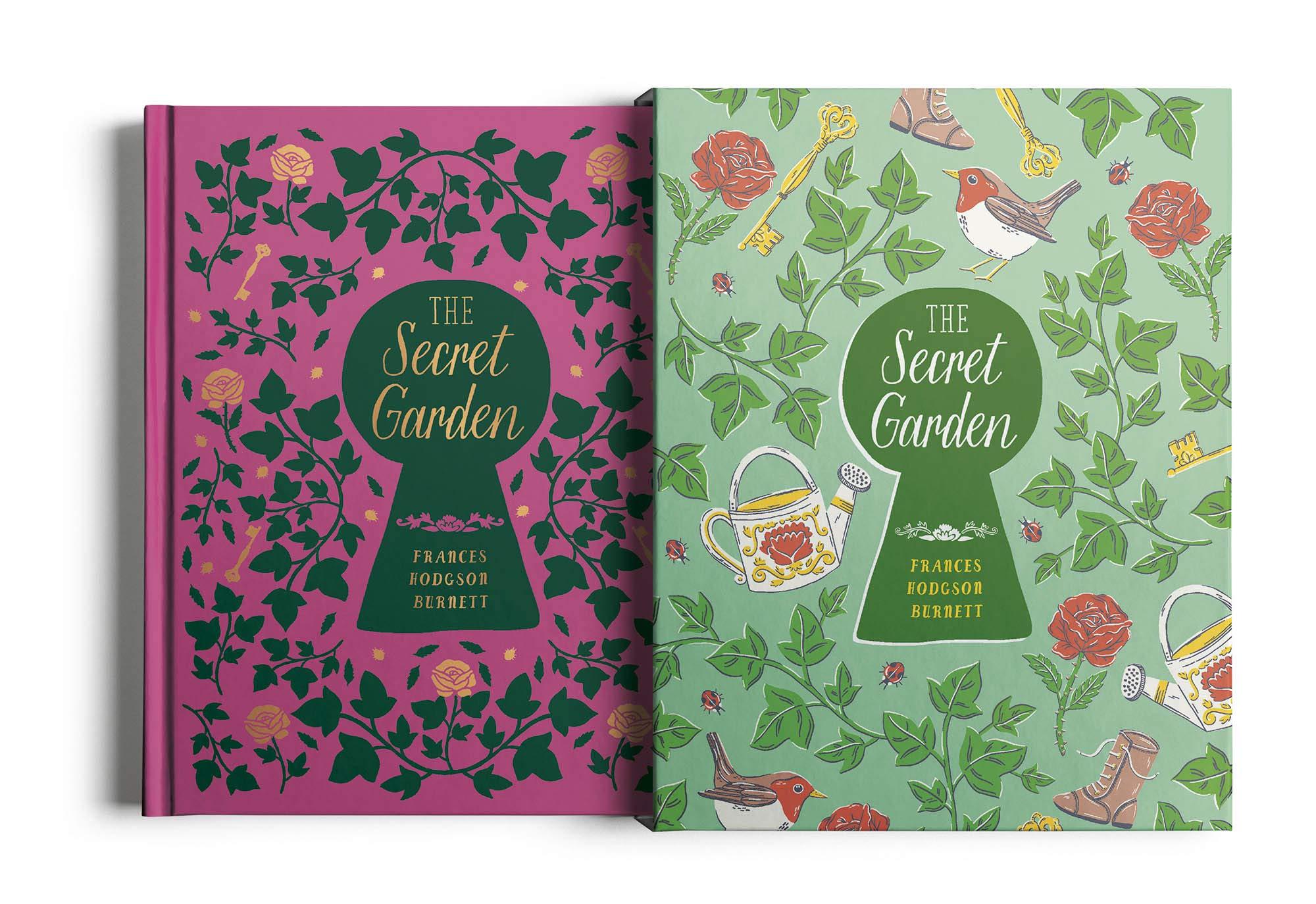 arcturus secret garden slipcase