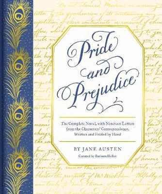 austen pride prejudice with lettters cover