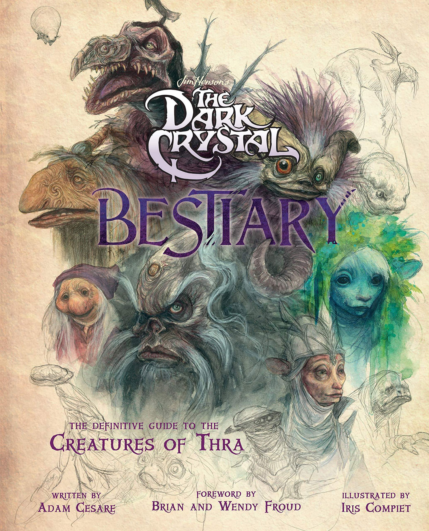 dark crystal bestiary cover