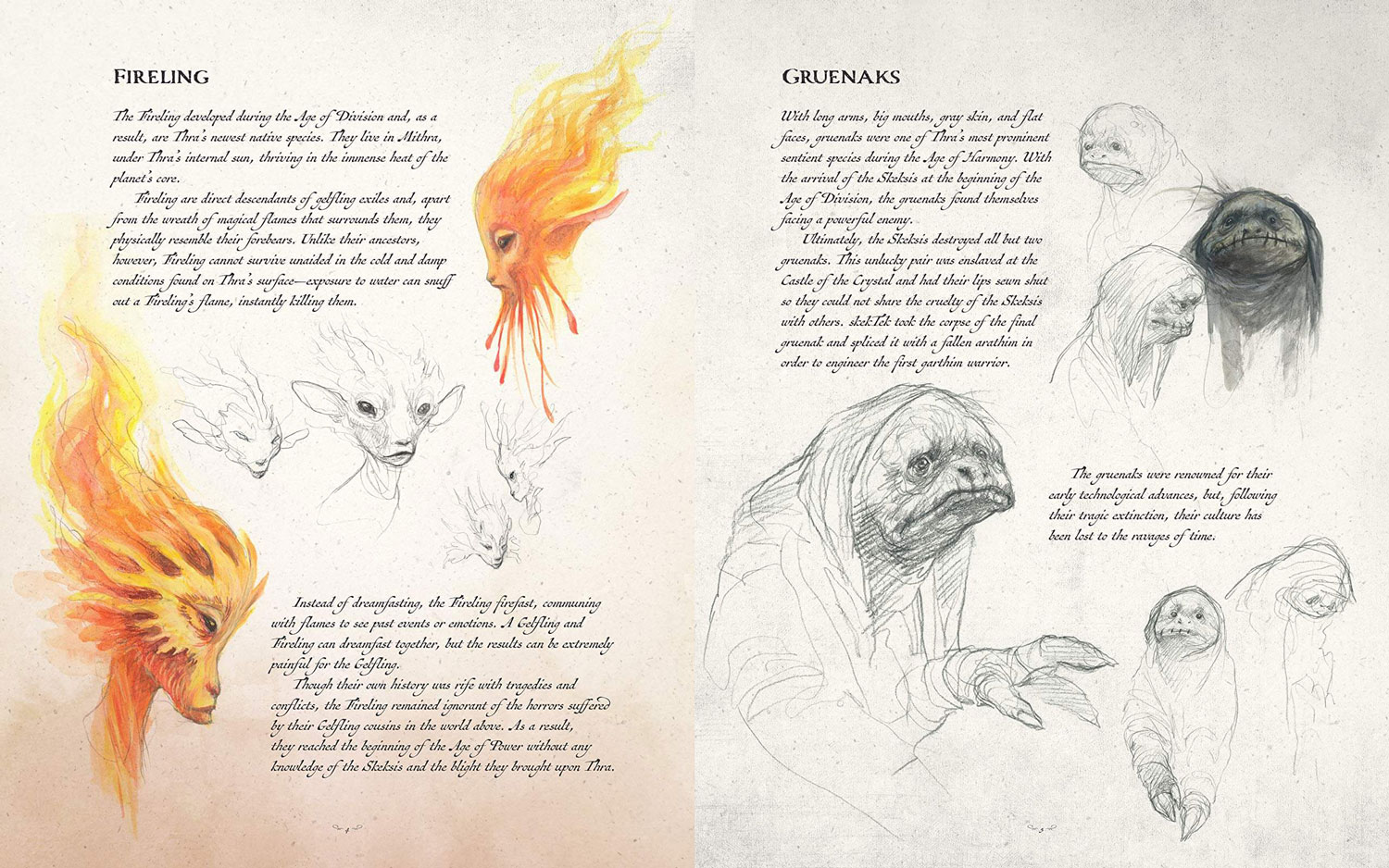 dark crystal bestiary int 1