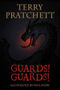 guards guards pratchett kidby special cover 600