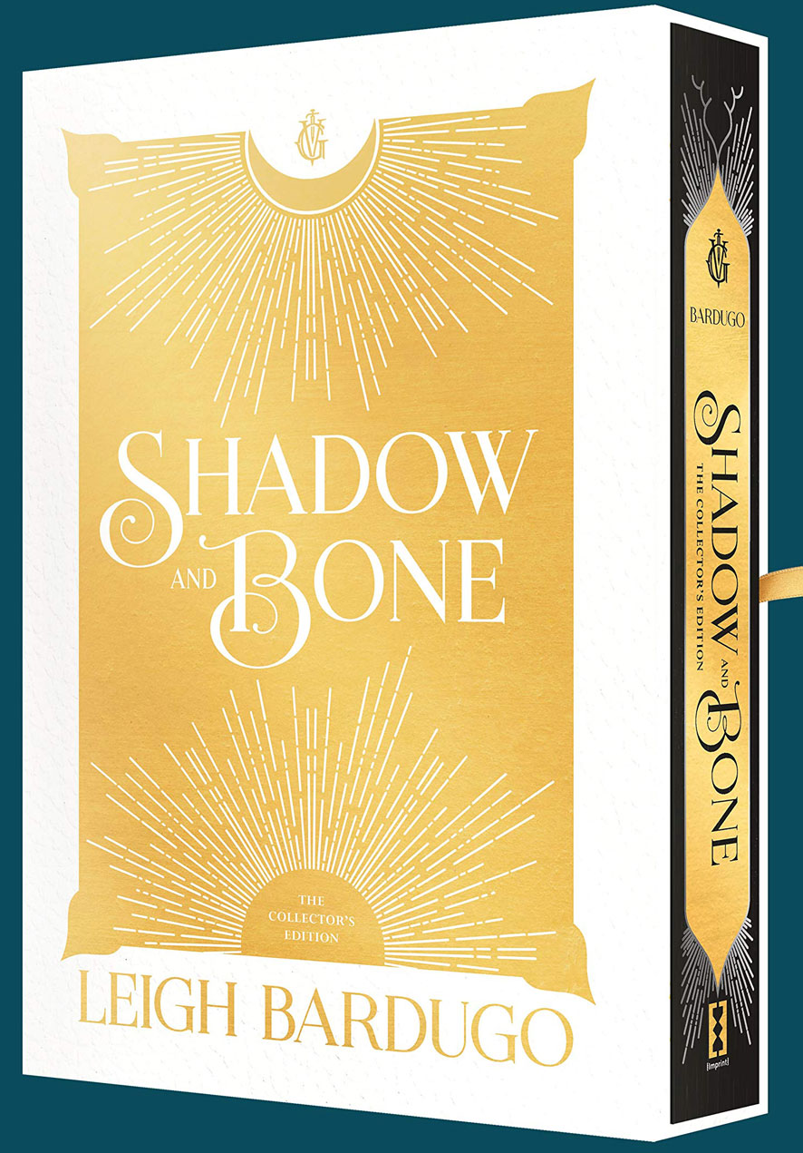 leigh bardugo shadow bone collector ed box ribbon
