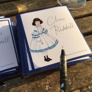 riddell signing bookplates