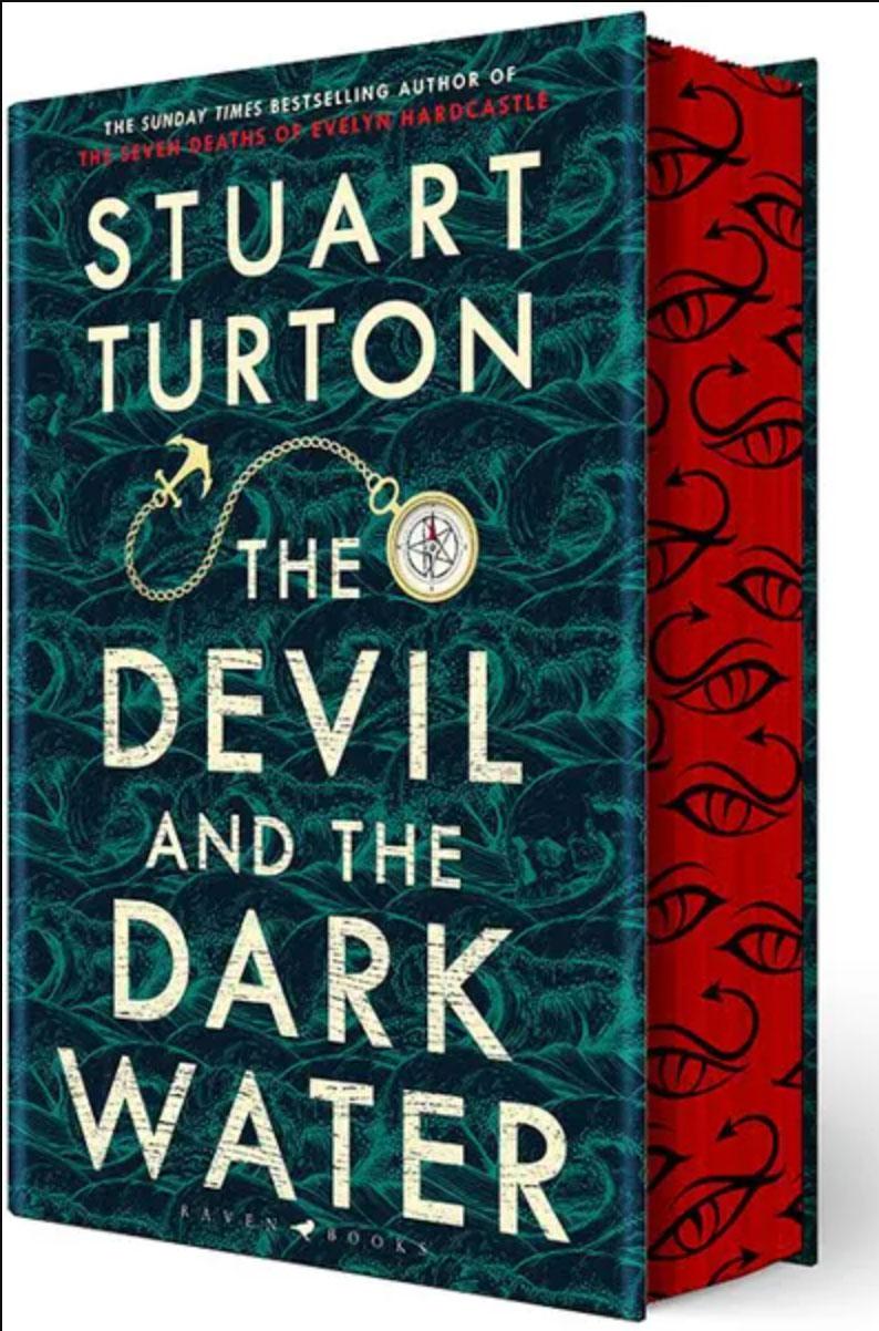 stuart turton devil dark water sprayed forbidden