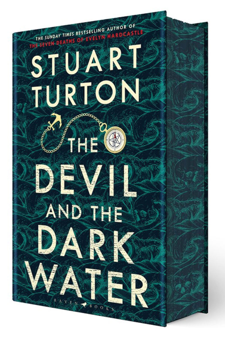 stuart turton devil dark water sprayed waterstones