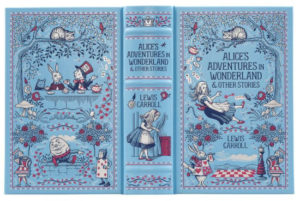 bn blue leatherbound alice cover full