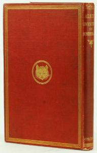 tenniel alice 1st ed back