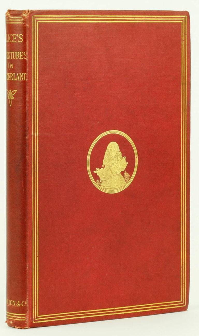 tenniel alice 1st ed cover
