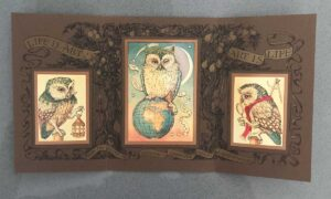 1997 CVS JP Invite Seymour Art Gallery Life Is Art triptych