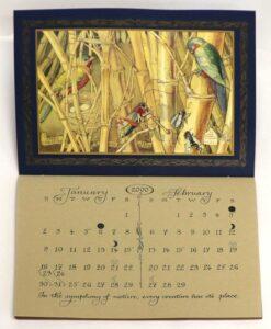 2000 CVS animal wisdom calendar dec jan